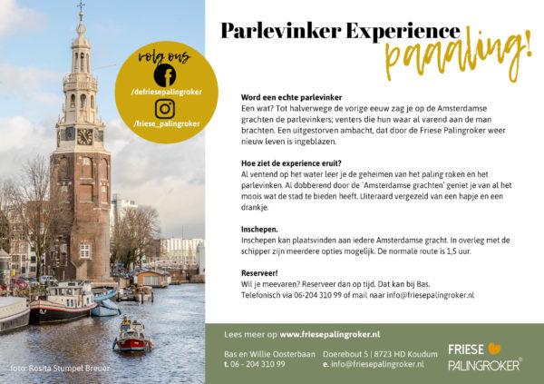 Palingroker experience amsterdam